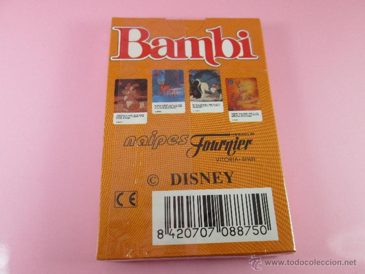 Barajas de cartas: (C)-BARAJA-HERACLIO FOURNIER-BAMBY-DISNEY-NUEVA-ANTIGUA-PRECINTADA-VER FOTOS - Foto 9 - 53309383
