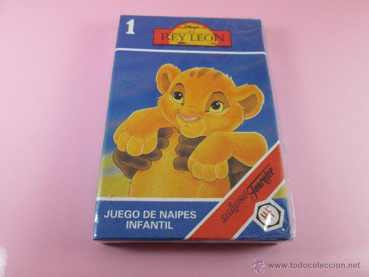 Barajas de cartas: (C)-BARAJA/CARTAS/NAIPES-HERACLIO FOURNIER-REY LEÓN 1-DISNEY-ANTIGUA-NUEVA-PRECINTADA-VER FOTOS - Foto 6 - 79406678