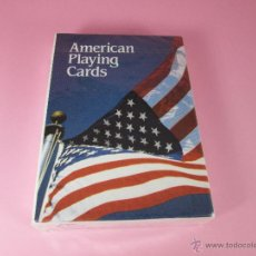 Barajas de cartas: (C)-BARAJA/CARTAS/NAIPES-CLÁSICA PÓKER-USA-PLAYING CARDS-PLASTIC COATED-NUEVA-.. Lote 43431512
