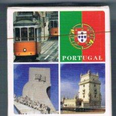 Barajas de cartas: BARAJA CARTAS PORTUGAL FOTOS PAISAJES Y MONUMENTOS 54 CARTAS NUEVA PRECINTADA NAIPES TURISMO. Lote 53338583