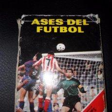 Barajas de cartas: CARTAS FOURNIER ASES DEL FUTBOL 1989. Lote 53396295