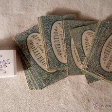 Barajas de cartas: ANTIGUA BARAJA BARAJITA CARTAS ORIGINAL AZAFRAN AZAFRANES CONDIMENTOS POLLUELOS NOVELDA FALTAN 4. Lote 53397246