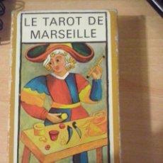 Barajas de cartas: LE TAROT DE MARSEILLE 78 CARTAS FOURNIER. Lote 53402546