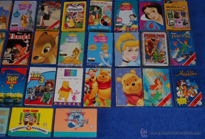 Barajas de cartas: Lote de 58 barajas Walt Disney - Fournier ¡Impecables! - Foto 5 - 53464351