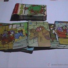 Barajas de cartas: JUEGO DE CARTAS FOURNIER. SERIE DISNEY. ROBIN HOOD. JUEGO COMPLETO DE 44 CARTAS CON CAJA. 1974.. Lote 67783185