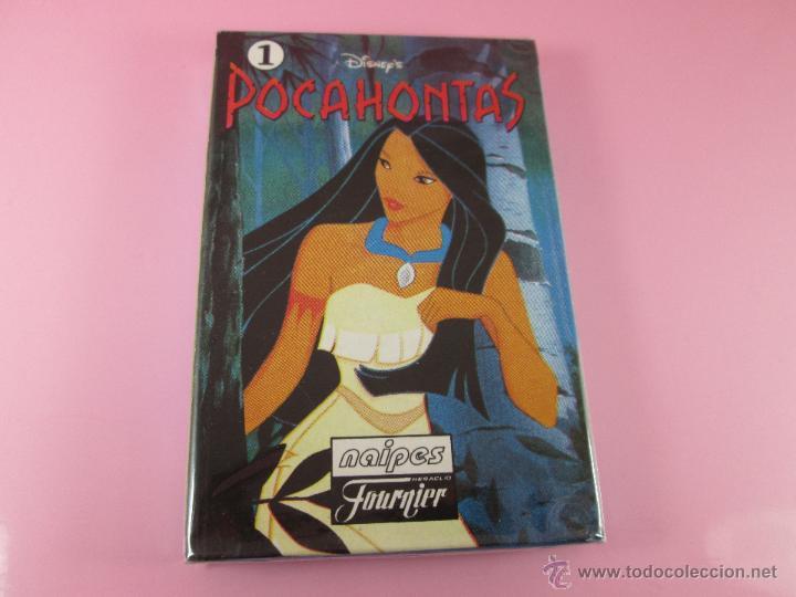 (C)-BARAJA-HERACLIO FOURNIER-POCAHONTAS 1-DISNEY-NUEVA-ANTIGUA-PRECINTADA-VER FOTOS (Juguetes y Juegos - Cartas y Naipes - Barajas Infantiles)