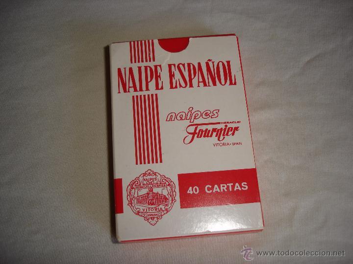 Barajas de cartas: BARAJA CARTAS, HERACLIO FOURNIER - ENTREFINOS CIGARROS. 40 NAIPES - Foto 2 - 53497981
