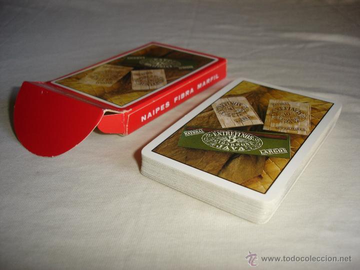 Barajas de cartas: BARAJA CARTAS, HERACLIO FOURNIER - ENTREFINOS CIGARROS. 40 NAIPES - Foto 4 - 53497981
