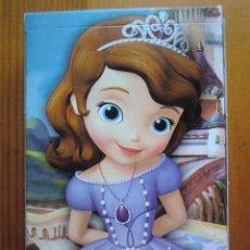 Barajas de cartas: BARAJA DE CARTAS INFANTIL LA PRINCESA SOFÍA (2013) DE HERACLIO FOURNIER. DISNEY. NUEVA Y PRECINTADA. Lote 53508920