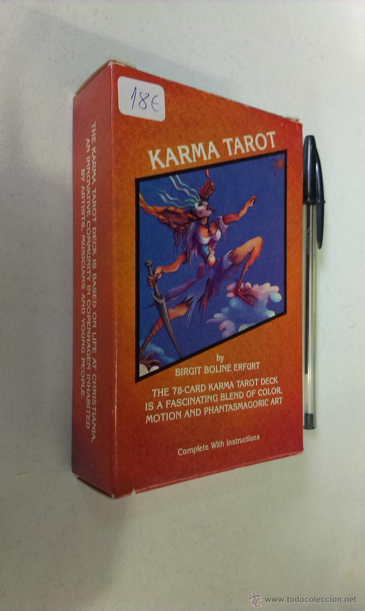 KARMA TAROT / BIRGIT BOLINE ERFURT / U. S. GAMES SYSTEMS (Juguetes y Juegos - Cartas y Naipes - Barajas Tarot)