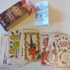 Barajas de cartas: BARAJA DEL SPANISH TAROT ESPAÑOL HERACLIO FOURNIER COMPLETA 78 CARTAS + INSTRUCCIONES PLAYING CARDS . Lote 53563234