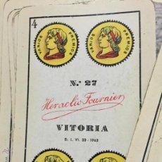 Barajas de cartas: BARAJA ESPAÑOLA HERACLIO FOURNIER. Lote 53572498