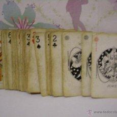 Barajas de cartas: ANTIGUA BARAJA CARTAS / NAIPES FRANCESA . Lote 53579126