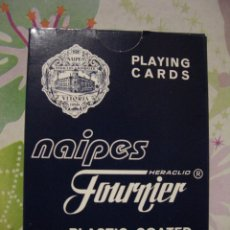 Barajas de cartas: BARAJA DE CARTAS / NAIPES DE POKER *** HERACLIO FOURNIER *** MBC *** PUBLICIDAD. Lote 53579662