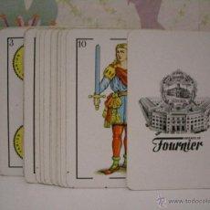 Barajas de cartas: BARAJA DE NAIPE ESPAÑOL *** HERACLIO FOURNIER ***. Lote 53579863