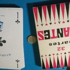 Barajas de cartas: GRIMAUD (FRANCIA) BARAJA GIGANTE (32 CARTAS). Lote 53607470