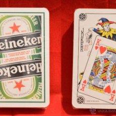 Barajas de cartas: BARAJA CARTAS POKER PUBLICIDAD CERVEZA HEINEKEN NUEVA SIN USO. Lote 53629541