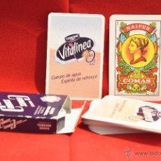 Barajas de cartas: BARAJA CARTAS COMAS PUBLICIDAD DANONE NUEVA SIN USO. Lote 53629764