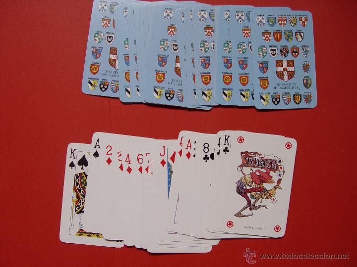 Barajas de cartas: Baraja POKER. Universidad Cambridge ¡Como nueva! - Foto 2 - 53663903