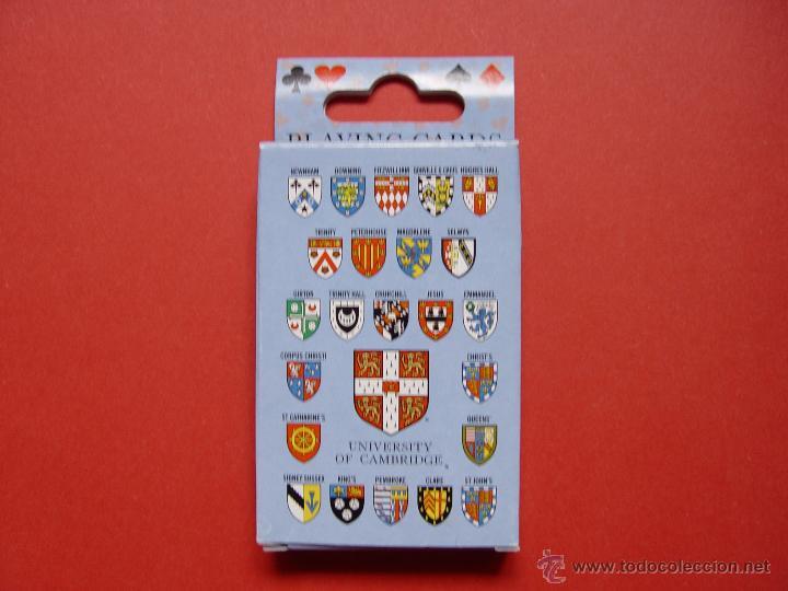 Barajas de cartas: Baraja POKER. Universidad Cambridge ¡Como nueva! - Foto 3 - 53663903