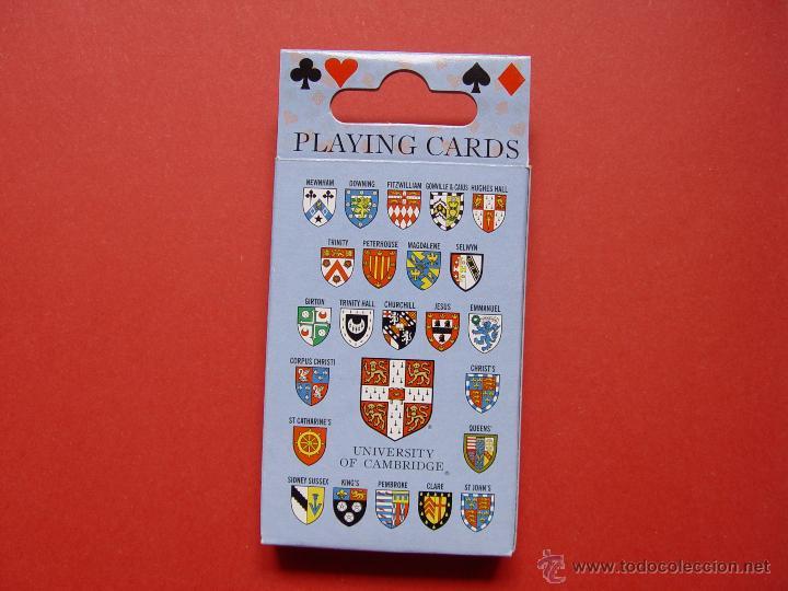 Barajas de cartas: Baraja POKER. Universidad Cambridge ¡Como nueva! - Foto 4 - 53663903
