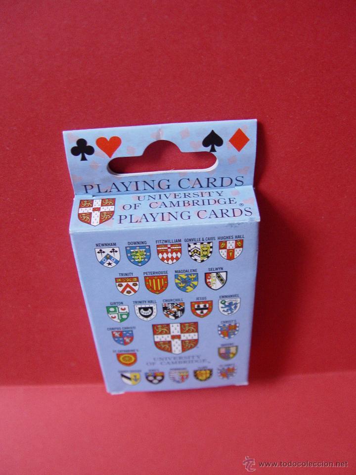 Barajas de cartas: Baraja POKER. Universidad Cambridge ¡Como nueva! - Foto 5 - 53663903