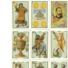 Barajas de cartas: BARAJA ESPAÑOLA CONMEMORATIVA 130 ANIV.DE FOURNIER-AÑO 1998.-. Lote 236432785