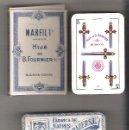 Barajas de cartas: BARAJA ANT. HIJA DE B. FOURNIER, MARFIL 1ª, 48 CARTAS PRECINTADA Y EN ESTUCHE. Nº 18, TIMBRE ROJO.. Lote 103902538