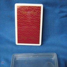 Barajas de cartas: BARAJA DE CARTAS SIN ABRIR PUBLICIDAD DE VIÑA REAL. Lote 53732650
