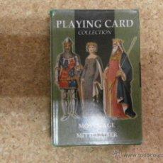 Barajas de cartas: BARAJA DE CARTAS PLAYING CARD MIDDLE AGES BARAJACARTAS-156. Lote 53805044