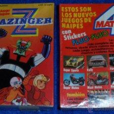 Barajas de cartas: MAZINGER Z - CROMY ¡IMPECABLE!. Lote 53814153