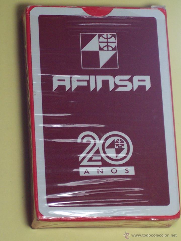 BARAJA DE CARTAS (NAIPES ESPAÑOL (NAIPES COMAS) PUBLICIDAD AFINSA (50 CARTAS) (Juguetes y Juegos - Cartas y Naipes - Otras Barajas)