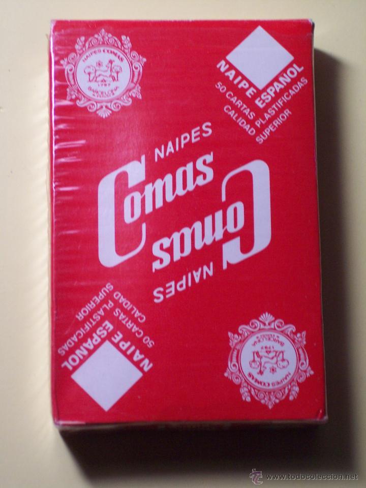 Barajas de cartas: BARAJA DE CARTAS (NAIPES ESPAÑOL (NAIPES COMAS) PUBLICIDAD AFINSA (50 CARTAS) - Foto 2 - 53815836