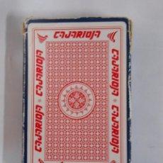 Barajas de cartas: BARAJA DE CARTAS NAIPE ESPAÑOL. CAJARIOJA. CAJA RIOJA. 40 CARTAS. TDKC37. Lote 53854116