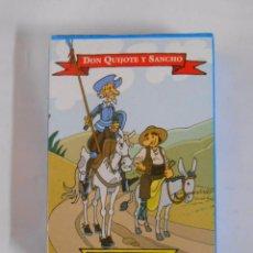 Barajas de cartas: BARAJA DE CARTAS DON QUIJOTE Y SANCHO NAIPE ESPAÑOL. TDKC37. Lote 53854487