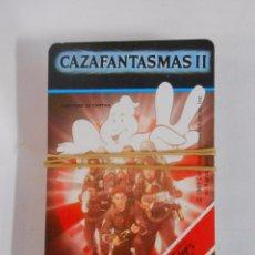 Barajas de cartas: BARAJA DE CARTAS. CAZAFANTASMAS II. FOURNIER. 32 CARTAS + CARTA PORTADA. TDKC37. Lote 53854846