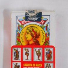 Barajas de cartas: BARAJA DE CARTAS. NAIPES ESPAÑOLES. HERACLIO FOURNIER. TDKC37. Lote 53854861