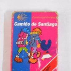 Barajas de cartas: BARAJA DE CARTAS. CAMINO DE SANTIAGO. CAMINO DE AMISTAD. FOURNIER. 33 CARTAS. TDKC37. Lote 53854916