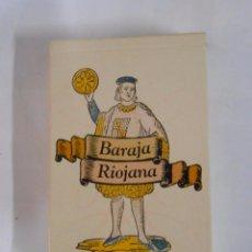 Barajas de cartas: BARAJA RIOJANA. BARAJA DE CARTAS. RETERIOJA. DIARIO LA RIOJA. FOURNIER. TDKC37. Lote 53855106
