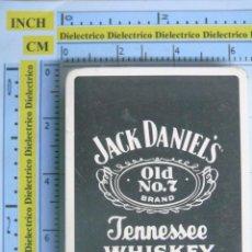 Barajas de cartas: BARAJA DE CARTAS DE POKER. BEBIDAS. WHISKY JACK DANIELS OLD Nº 7. PRECINTADA. Lote 53940181
