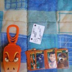 Barajas de cartas: JUEGO DE CARTAS KAA, EL LIBRO DE LA SELVA DE BURGER KING, COMO NUEVO. Lote 53960374