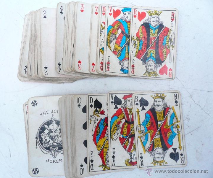 Barajas de cartas: BARAJA FRANCESA B.P. GRIMAUD. ESTUCHE CON DOS BARAJAS - Foto 2 - 53984421
