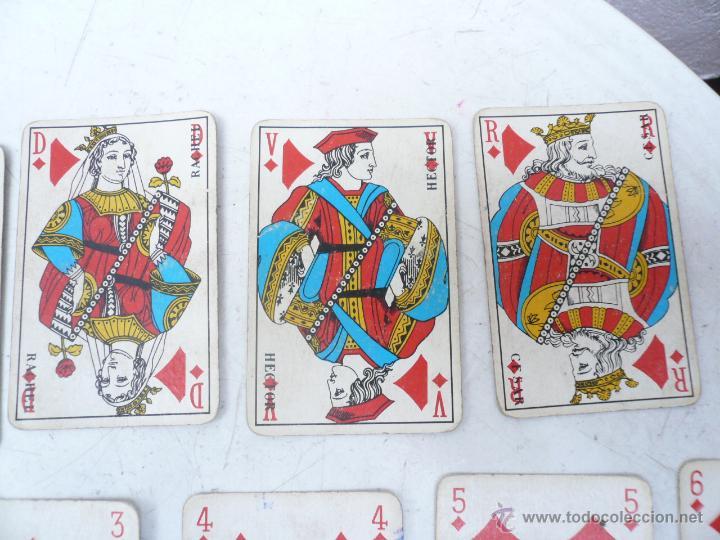Barajas de cartas: BARAJA FRANCESA B.P. GRIMAUD. ESTUCHE CON DOS BARAJAS - Foto 3 - 53984421