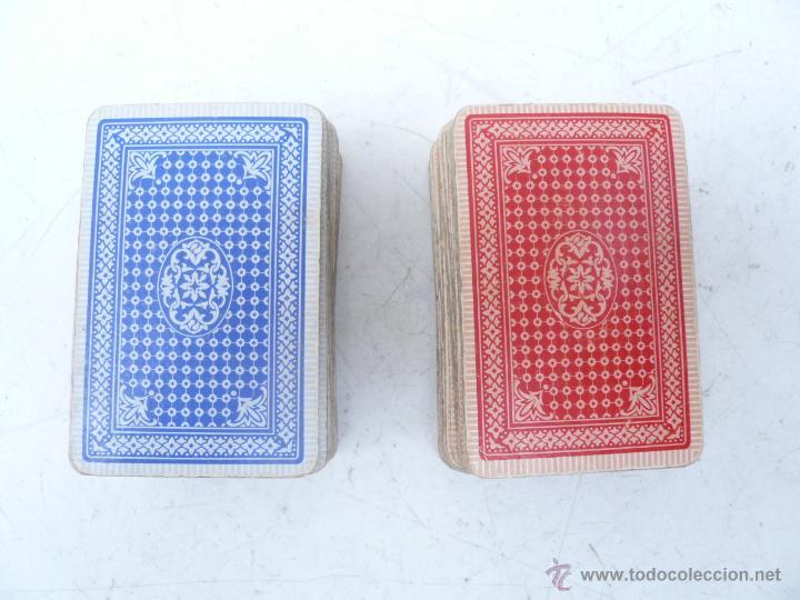 Barajas de cartas: BARAJA FRANCESA B.P. GRIMAUD. ESTUCHE CON DOS BARAJAS - Foto 5 - 53984421