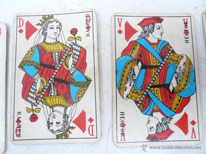 Barajas de cartas: BARAJA FRANCESA B.P. GRIMAUD. ESTUCHE CON DOS BARAJAS - Foto 8 - 53984421