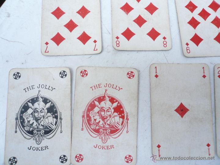 Barajas de cartas: BARAJA FRANCESA B.P. GRIMAUD. ESTUCHE CON DOS BARAJAS - Foto 9 - 53984421