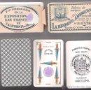 Barajas de cartas: BARAJA LA HISPANO AMERICANA DE JUAN ROURA, Nº 21 EXTRA, TIMBRE MORADO Y 2 COMODINES.. Lote 135077205