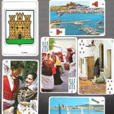 Barajas de cartas: BARAJA DE IBIZA Y FORMENTERA, NAIPE ESPAÑOL 48 CARTAS + 2 COMODINES. PRECINTADA.. Lote 53991038
