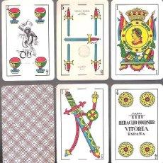 Barajas de cartas: BARAJA MARCA TITI DE FOURNIER. 40 CARTAS DE 1965. TIMBRADA Y PRECINTADA. Lote 54004011