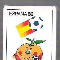 Baralhos de cartas: BARAJA DE POKER DEL MUNDIAL DE FUTBOL ESPAÑA 82, NARANJITO. PRECINTADA.. Lote 54029028